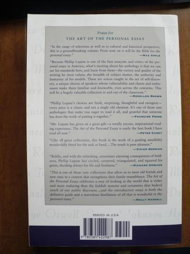 The Norton Anthology Summary Essay