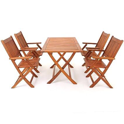 LD Sillas para madera Jardín Jardín muebles de jardín mesa