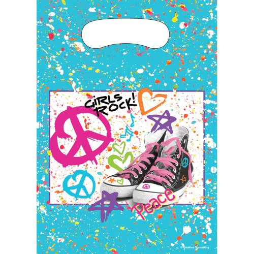 Totally 80's Party Treat Bags (8 ct)