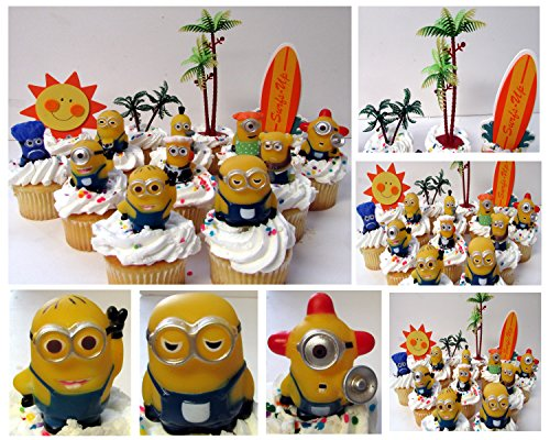 14 Piece Birthday Cupcake Topper