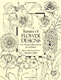 Treasury of Flower Designs for Artists, Embroiderers and Craftsmen (Dover Pictorial Archive) thumbnail
