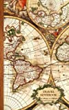 Travel Notebook: Gifts / Gift / Presents ( Ruled Travelers Notebook with Antique Map Cover ) (Travel & World Cultures)