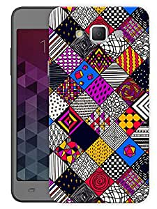 """Humor Gang Random Boxes Pattern Printed Designer Mobile Back Cover For """"Samsung Galaxy A7"""" (3D, Matte, Premium Quality Snap On Case)"""