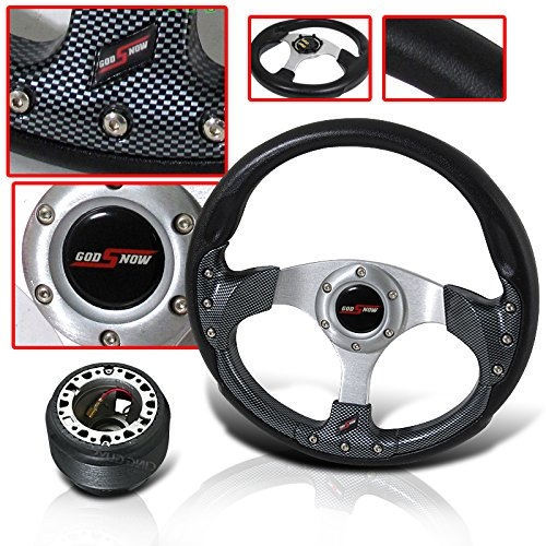 TOYOTA COROLLA CAMRY CELICA JDM HORN BUTTON WITH STEERING WHEEL AND ADAPTER HUB (Steering Wheel For Toyota Corolla compare prices)