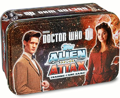 Underground Toys Doctor Who 26 Regular & 5 Special Cards Tin