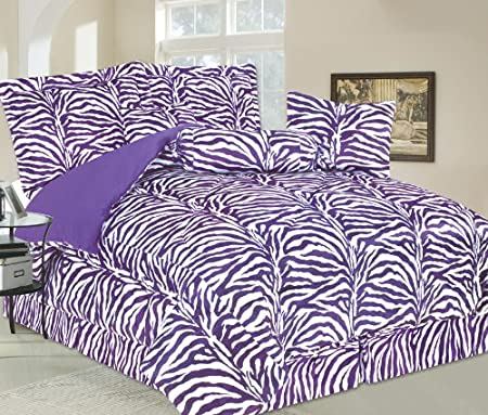 Zebra Stripe Print Bedding and Accessories