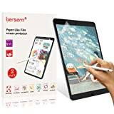 Paperlike Screen Protector for iPad Air 2019/ iPad Pro 10.5, bersem iPad Air 2019 /iPad Pro 10.5 2017 Paperlike Screen Protector (2 Pack) Matte Film Anti Glare Less Fingerprint with Easy Installation