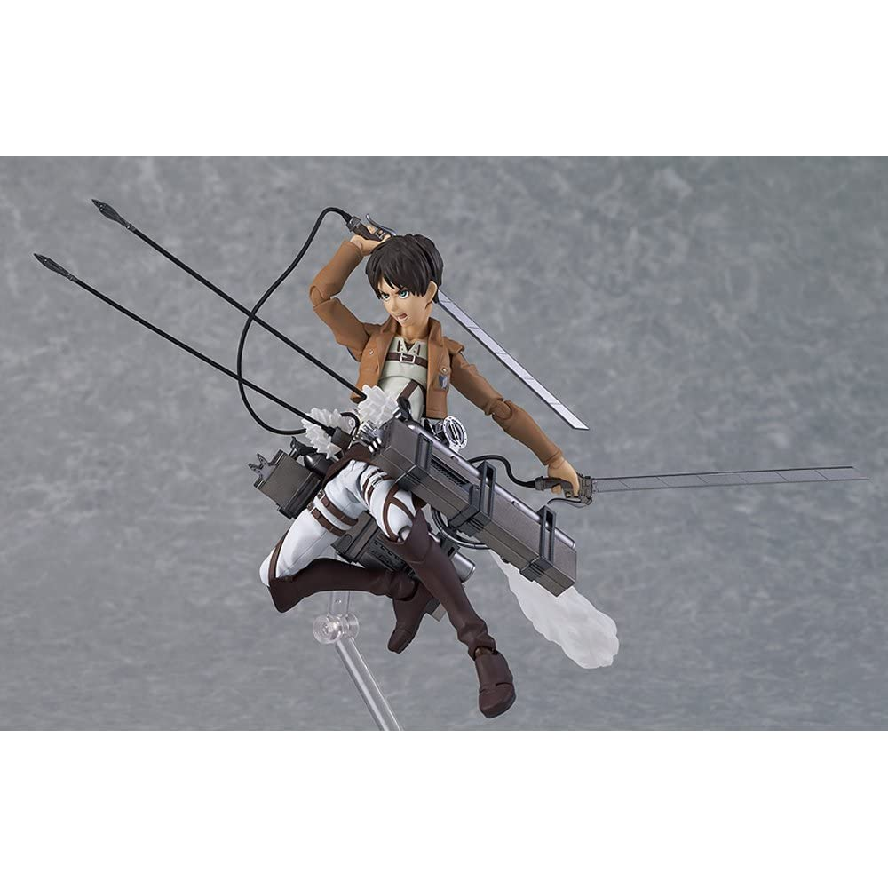 figma 進撃の巨人 エレン・イェーガー (ノンスケール ABS&PVC 塗装済み可動フィギュア)