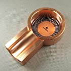 Rose Gold Vintage Habanos COHIBA Smoking Cigar Tobacco Cigarette Ashtray Holder