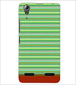 PrintDhaba Tribal Pattern D-1720 Back Case Cover for LENOVO A6000 (Multi-Coloured)