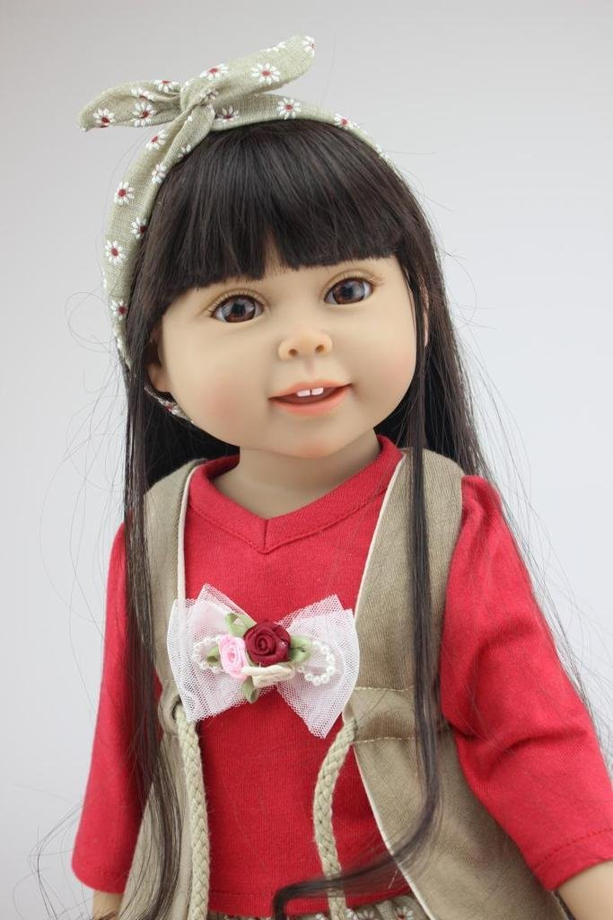 NPK Collection Das Kinderspielzeug ist aus Kunststoff und 18 Zoll 45 cm gro?. Es ist ein hochwertiges Geschenk f¨¹r sch?ne als Weihnachtsgeschenke. günstig kaufen