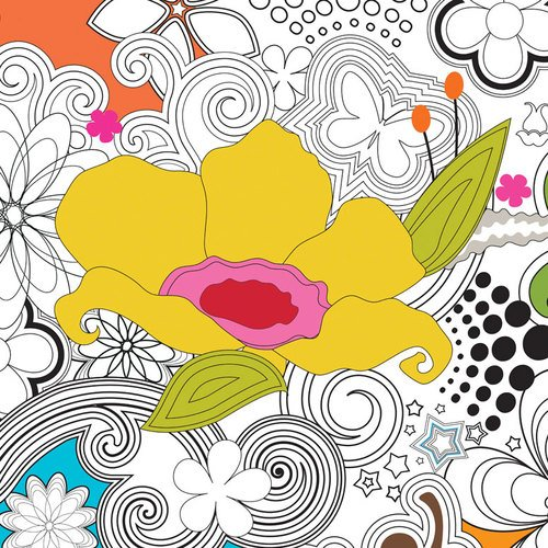 Oopsy Daisy Delight Wall Art, 14 by 14