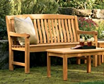 Big Sale Best Cheap Deals New Grade A Teak Wood Luxurious Outdoor Garden 5 Feet Bench- Devon Collection
