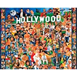 White Mountain Puzzles Hollywood 1000 Piece Jigsaw By