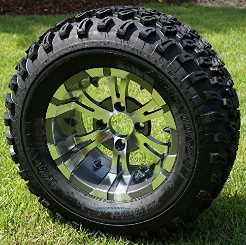 12-vampire-gunmetal-aluminum-wheels-and-23x105-12-all-terrain-golf-cart-tires-combo-set-of-4