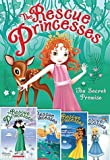 img - for The Rescue Princesses 5 Book Set Includes #1: The Secret Promise #2: The Wishing Pearl #3: The Moonlight Mystery #4: The Stolen Crystals #5: The Snow Jewel book / textbook / text book