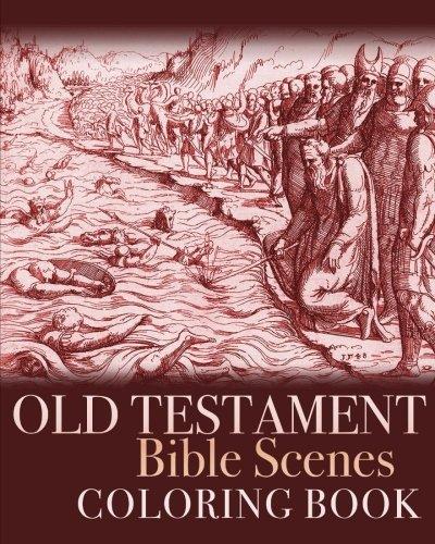 Old Testament Bible Scenes Coloring Book Colouring Books