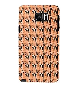 EPICCASE swag giraffe Mobile Back Case Cover For Samsung Galaxy Note 5 (Designer Case)
