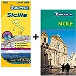 Guide Vert Sicile + Carte routi�re Si...