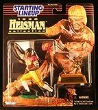 MARCUS ALLEN / USC TROJANS * 1998 NCAA College Football HEISMAN COLLECTION Starting Lineup Action Figure, Football Helmet & Miniature 1981 Heisman Memorial Trophy * UNIVERSITY OF SOUTHERN CALIFORNIA