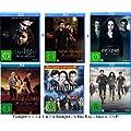 Twilight 1-5 - Die komplette Saga + Beilight Biss z. A.6 Blu Rays