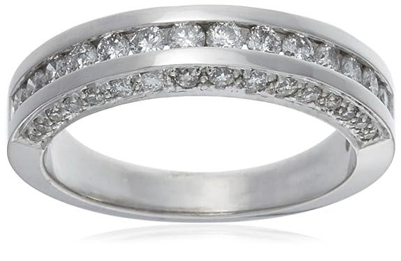 18ct White Gold AMR261074 Ladies 0.75ct Diamond Band Ring