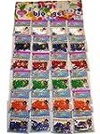 24 Bags Water Jelly Beads Aqua Gems B...