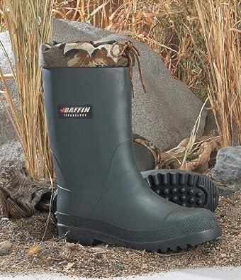 Men's Baffin Minus 40 Degree Swamp Boots Olive Green, OLIVE, 7