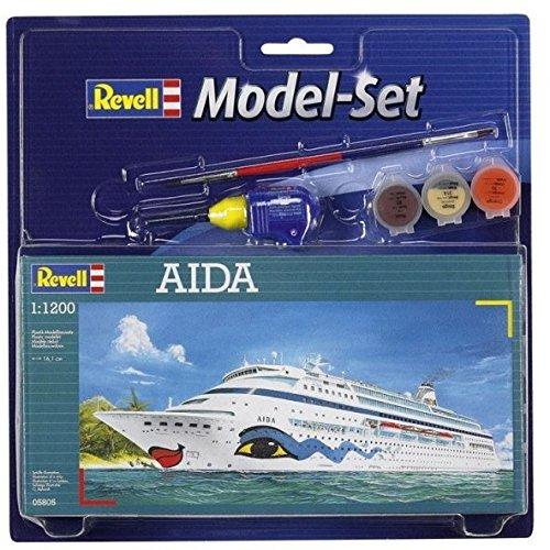 Revell-65805-Modellbausatz-Model-Set-AIDA-im-Mastab-11200