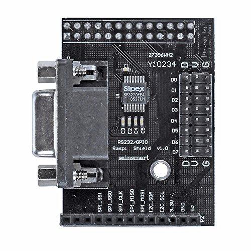 Sainsmart Rs232 / Gpio Shield For Raspberry Pi
