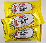 VIGO Authentic Saffron YELLOW RICE 9 oz (3 Pack) Completely Seasoned No Fat Arroz Amarillo