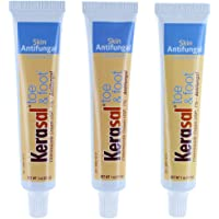 3-Pack Kerasal Toe & Athletes Foot Cream