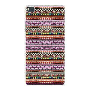 Mobile Back Cover For Huawei Ascend P8 (Printed Designer Case)