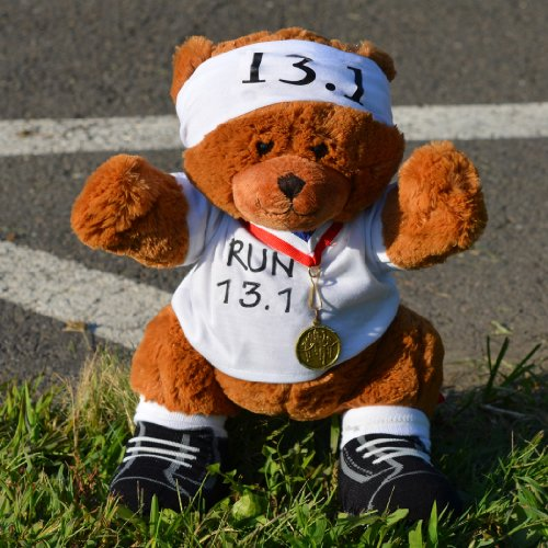 13.1 Half Marathon Race Teddy Bear - Runners