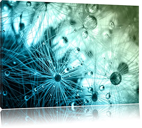 glasperlen wei es gras abstrakt format 100x70 cm auf leinwand xxl riesige bilder fertig. Black Bedroom Furniture Sets. Home Design Ideas