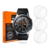 Spigen Tempered Glass Screen Protector Designed for Samsung Galaxy Watch 46mm / Gear S3 Classic/Gear S3 Frontier (3 Pack) (Color: Glas. tR SLIM)