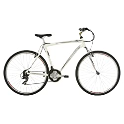 Mizani Zone HT Hybrid Bike - White