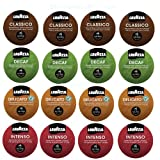 16 count Lavazza Espresso Sampler for Keurig Rivo -4 varieties- Classico. Delicato, Intenso & Decaf, Try them all!