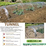 Betty garden serra new per orto con tunnel a soffietto - serre da orto