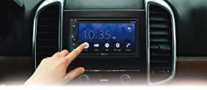 Sony XAV-AX200 6.4 Car Play/Android Auto CD/DVD Receiver with Sirius XM Tuner and 90 Day Service Included (Color: Black, Tamaño: 6 inches)