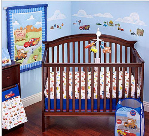 Disney - Cars Radiator Springs 3-piece Crib Bedding Set - 1