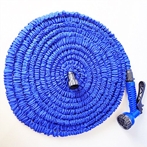50 Feet Expanding Flexible Water Hose Garden with Spray Nozzle (Backflow Pipe Insulation compare prices)