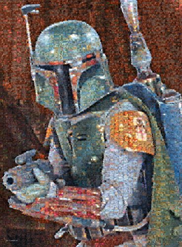 Buffalo Games Star Wars Photomosaic: Boba Fett - 1000 Piece Jigsaw Puzzle by Buffalo Games