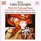 Vieuxtemps: Viola And Piano Music