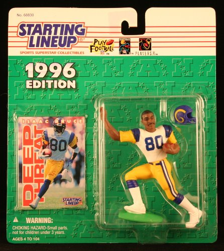Starting Line Up 1996 Isaac Bruce St. Louis Rams Action Figure - 1