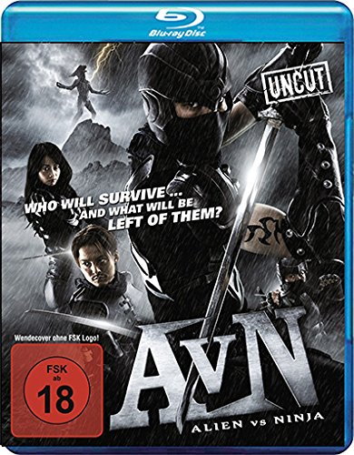 Alien vs. Ninja, Blu-ray