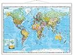 Weltkarte deutsch: Gro�format mit Met...