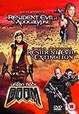 echange, troc Resident Evil - Apocalypse/Resident Evil - Extinction/Doom [Import anglais]