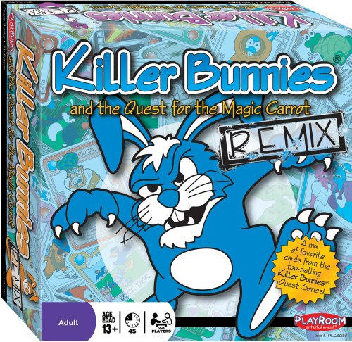 Killer Bunnies and the Quest for the Magic Carrot - Remix Edition - Over 300+ Handpicked Cards From All Sets (Killer Bunnies Quest Green compare prices)