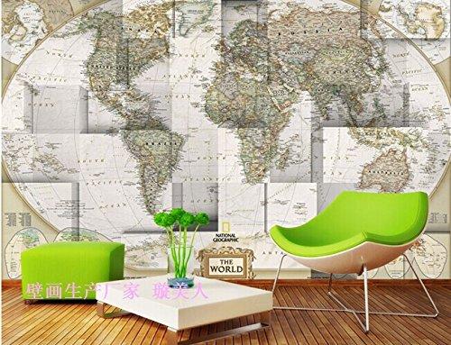 Mapa del mundo 3d pegatinas pared decoraci n del hogar - Pegatinas pared ikea ...